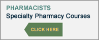 Specialty Pharmacy CE Courses
